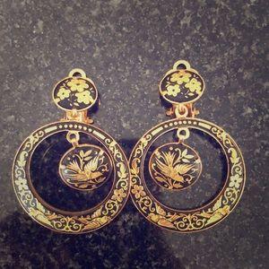 Barcelona inspired earrings